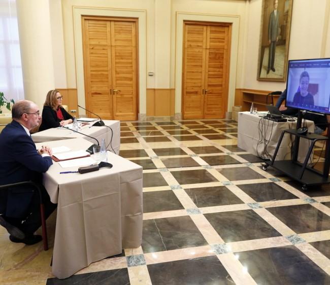 Aragón y ambas Castillas piden a Vestager un régimen común de ayudas para las despobladas Cuenca, Guadalajara, Soria y Teruel