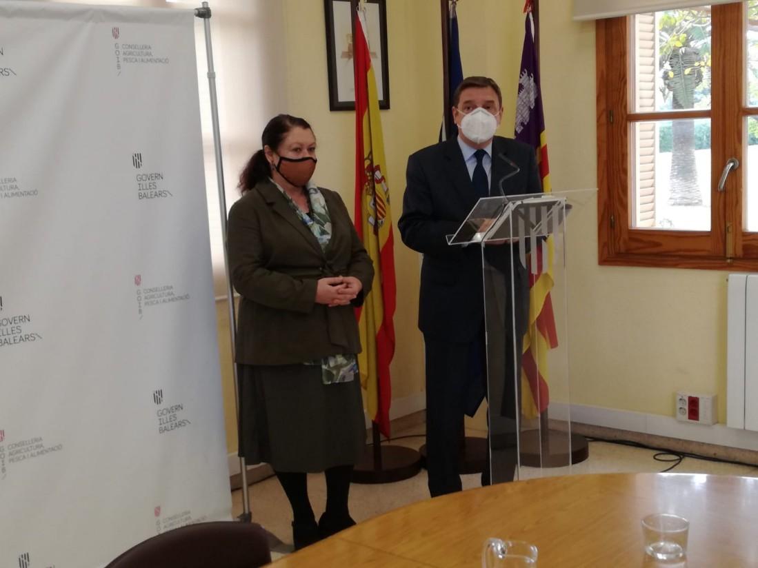Planas dice que el PEPAC tendrá en cuenta la especificidad insular del agro en las Islas Baleares