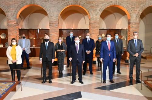 Aragón, Castilla y León y Castilla-La Mancha firman la Declaración de Talavera frente al reto demográfico