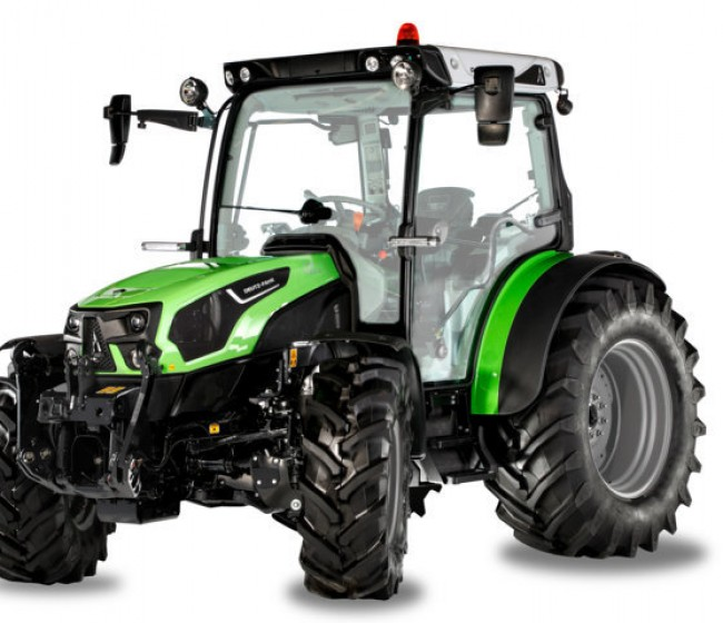 Deutz-Fahr presenta la nueva serie de tractores 5D TTV