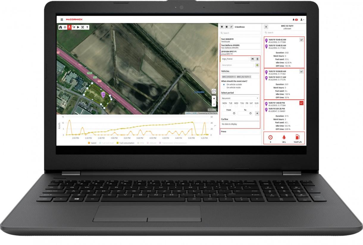 Argo Tractors y Actia colaboran en la implementación de la telemática en tractores