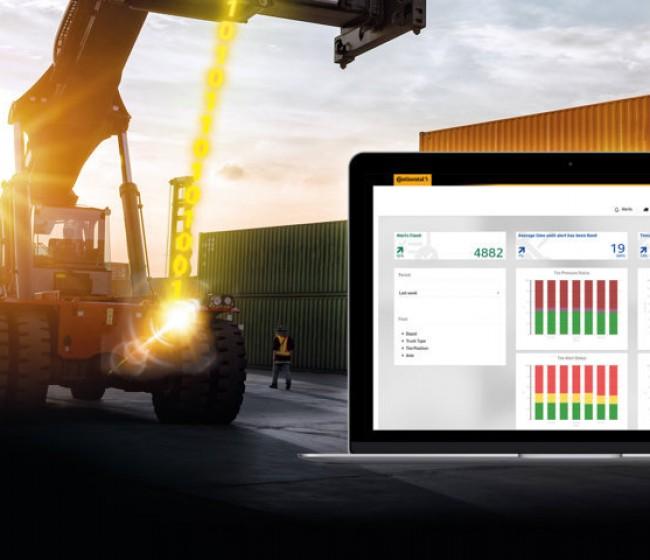 Continental lanza ContiConnect Live, el control digital del neumático en la nube