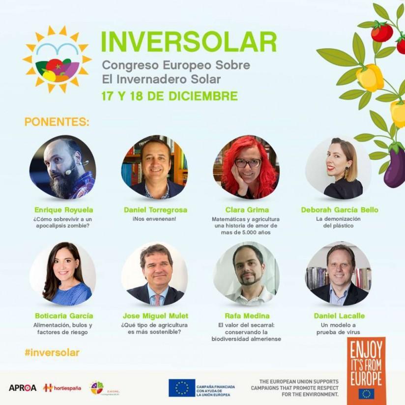En marcha Inversolar, Congreso Europeo sobre Invernaderos Solares