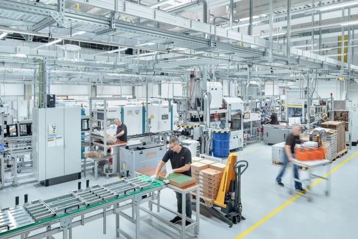 El grupo Stihl prevé incrementar su eficiencia energética más de un 40% para 2030
