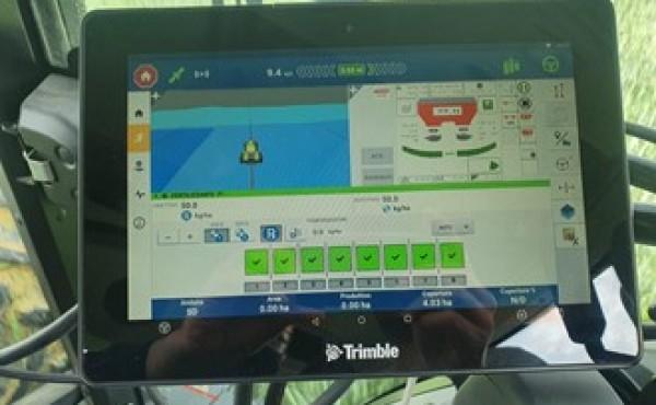 Una de las salas de reuniones de la Feria Digital de Trimble estará dedicada a la «Gestión de datos agrícolas»