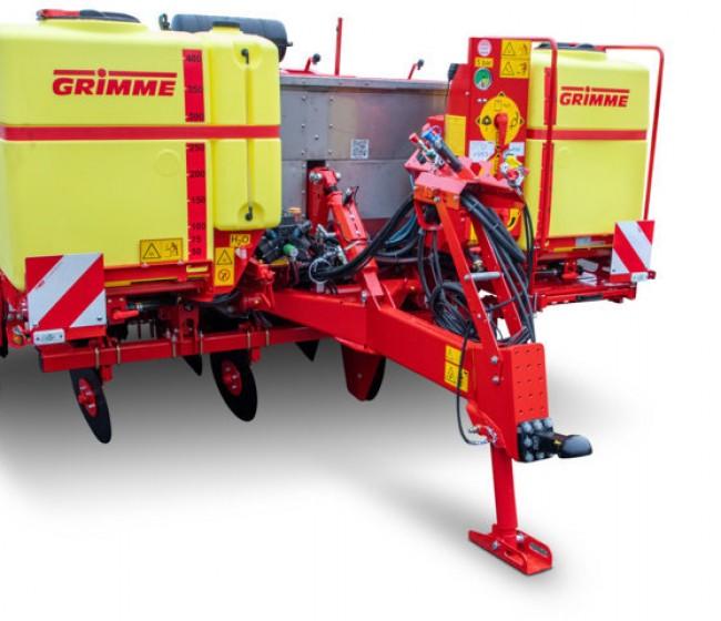 Novedades en las plantadoras de patatas de Grimme