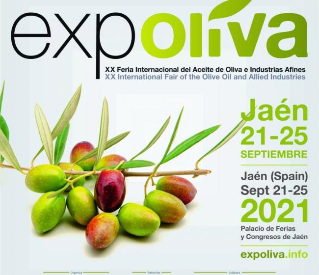 Expoliva 2021 se celebrará entre el 21 y 25 de septiembre