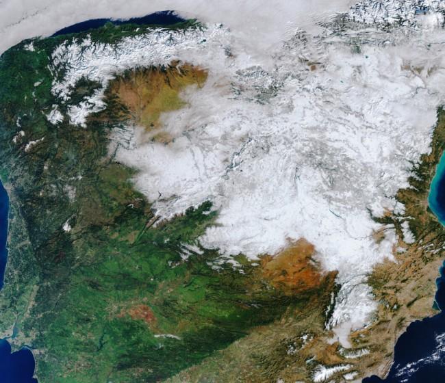 La borrasca Filomena dejó unos 5.000 hm3 de agua en España