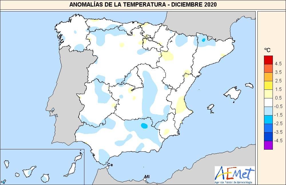 2020, el año más cálido en España…. y en el mundo