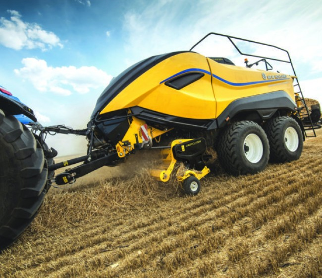 La empacadora gigante BigBaler 1290 High Density de New Holland, Good Design Award 2020