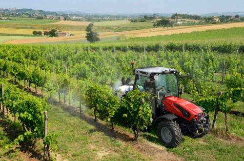 Same presenta el nuevo tractor multitarea Dorado CVT