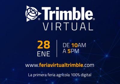 Trimble organiza la primera feria digital dedicada a la agricultura de precisión