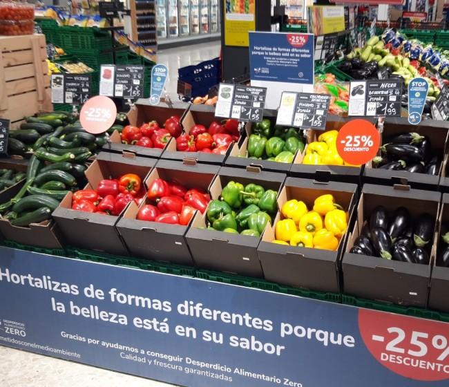 Carrefour impulsa el consumo de hortalizas andaluzas con imperfecciones