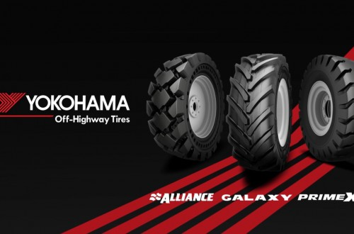 Yokohama OTR y Alliance Tire Group se unen en Yokohama Off-Highway Tires