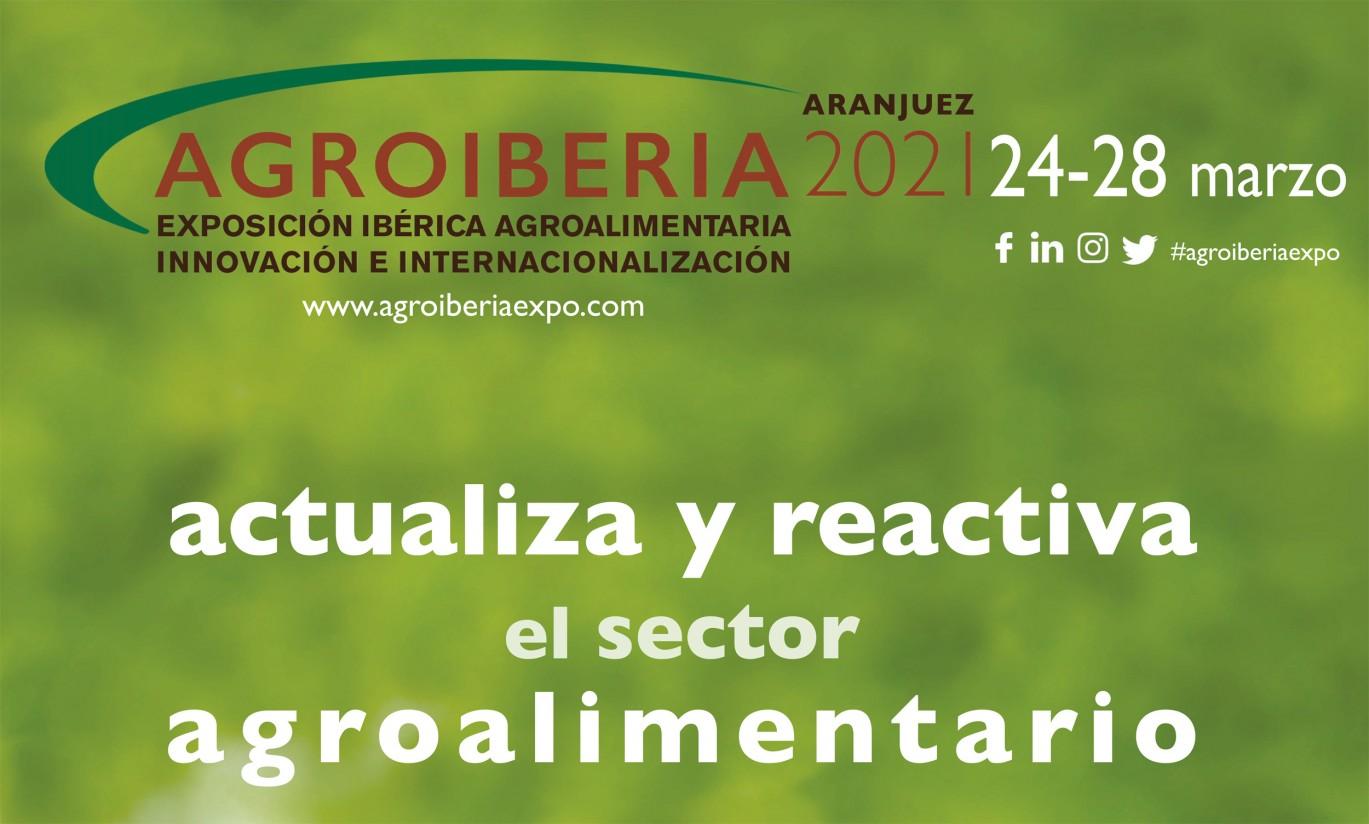 Agroiberia, Exposición Ibérica Agroalimentaria para la Innovación y la Internacionalización, se pospone a septiembre