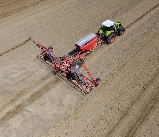 Kverneland lanza la nueva DG II capaz de sembrar hasta 140 hectáreas al día