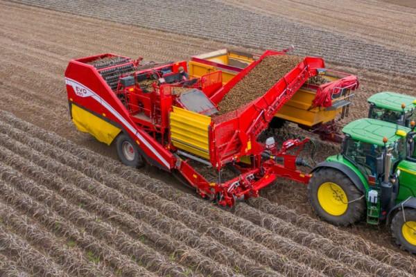 Grimme actualiza su cosechadora arrastrada Evo 280