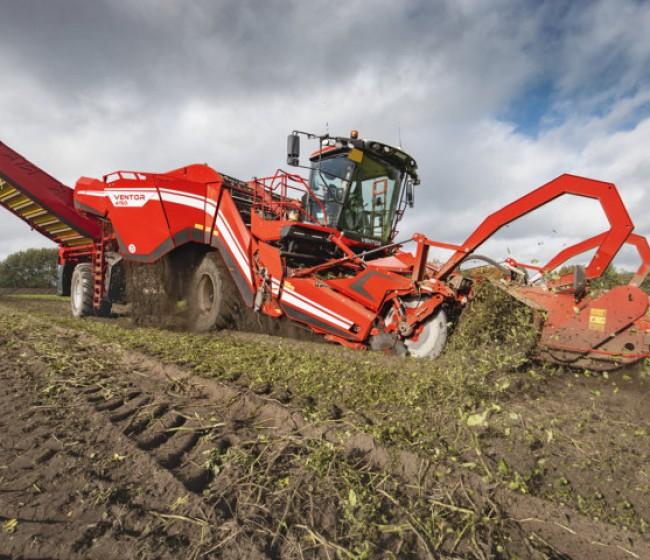 Nuevas opciones para la cosechadora de patatas Ventor 4150 de Grimme