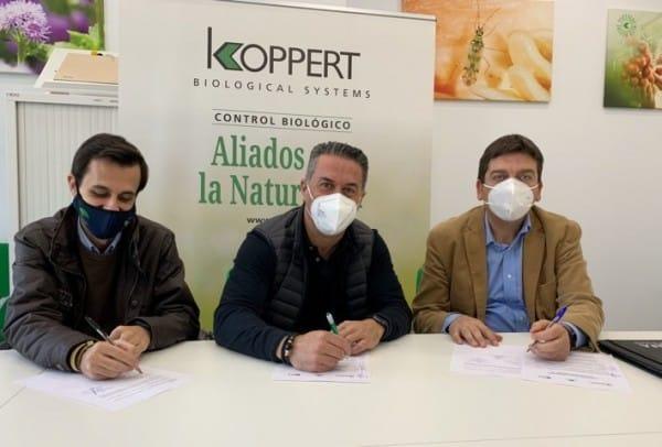 Convenio de colaboración entre Koppert y las EFAs Campomar y El Soto