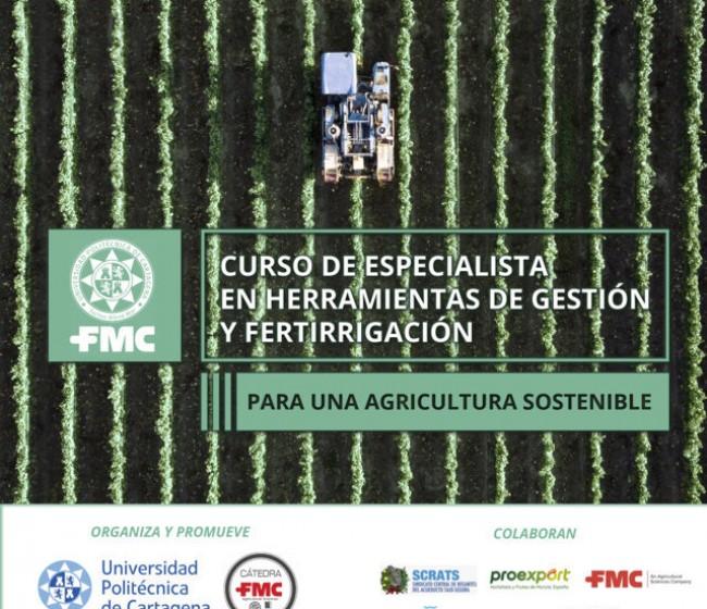 Concluye el curso de especialistas en fertirrigación sostenible promovido por la cátedra de FMC