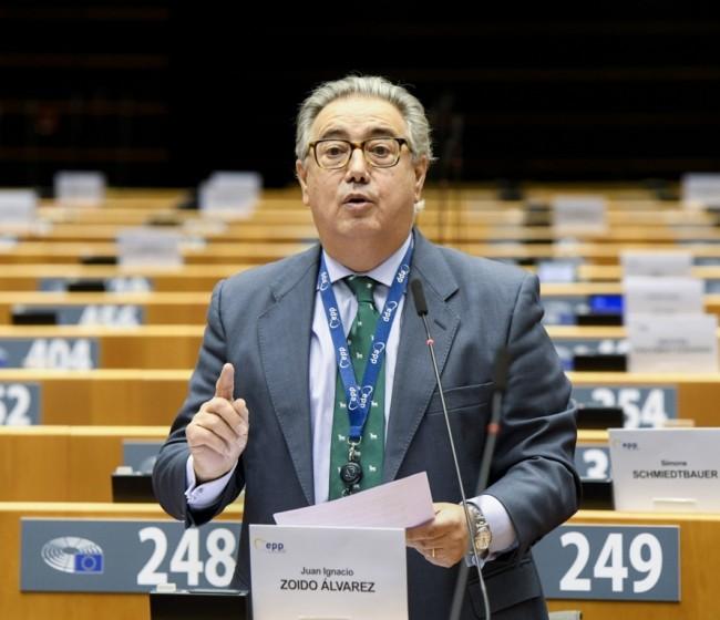 El PP defiende en el PE la calidad del jamón ibérico de bellota y pide una revisión de Nutriscore