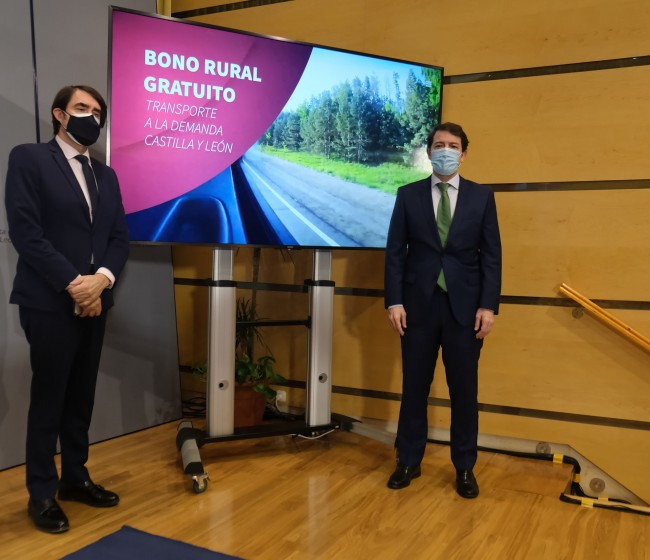 Transporte a demanda gratuito para todo el medio rural de Castilla y León de aquí a marzo de 2022