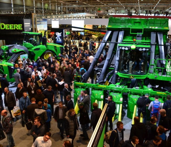 John Deere no participará en la próxima edición de Agritechnica