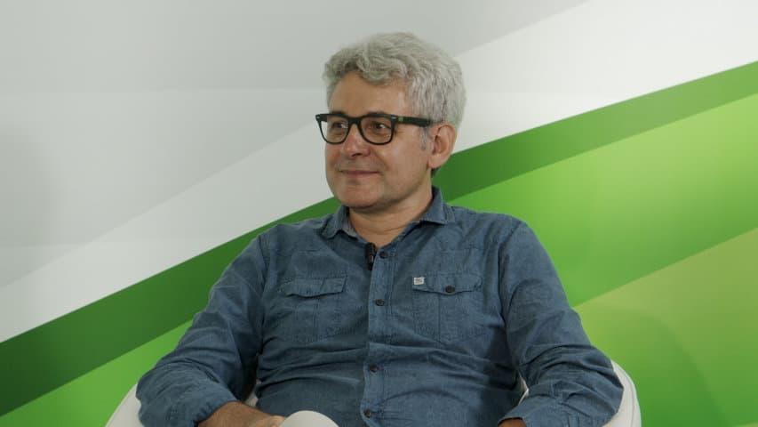 Piero Torassa, ingeniero de campo de BKT, en una nueva entrega de las Inspiring Talks