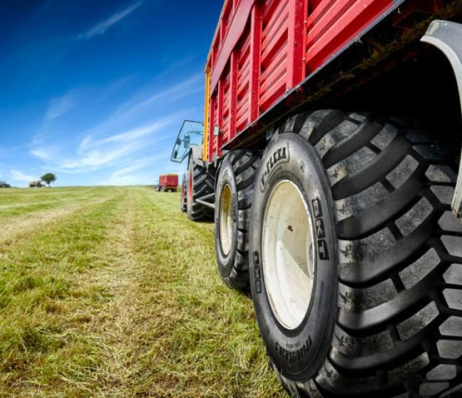 BKT lanza tres nuevas medidas en la gama de neumáticos V-Flexa para remolques agrícolas