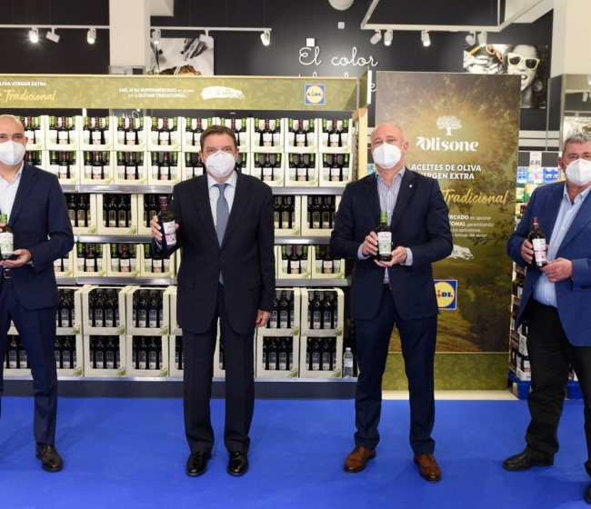 Lidl, Migasa y UPA presentan una nueva gama de AOVE a un precio justo