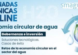 Ciclo de webinars sobre la economía circular del agua organizado por Smagua