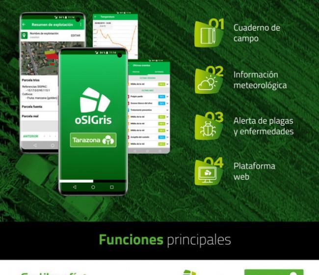 Tarazona se alía con oSIGris en la digitalización de la agricultura