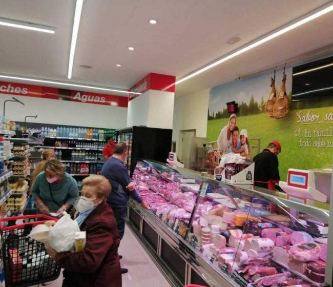 Los supermercados crecen en los municipios rurales en 2020