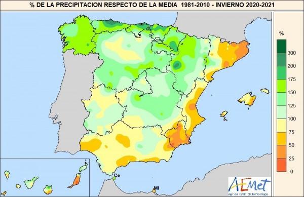 Una primavera 2021 más cálida de lo normal, según la AEMET