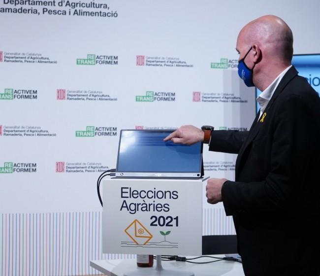 Unió de Pagesos fue la organización más votada en las Elecciones Agrarias de Cataluña, con el 55,04% del total