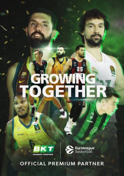 BKT, Premium partner de la Euroliga de baloncesto