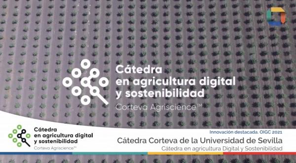 La Cátedra Corteva en Agricultura Digital elegida por el Instituto Cerdá entre los 20 proyectos más innovadores de 2020