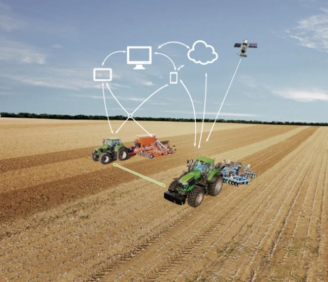 Deutz-Fahr ofrece conectividad en su gama de tractores TTV de alta potencia gratis durante un año