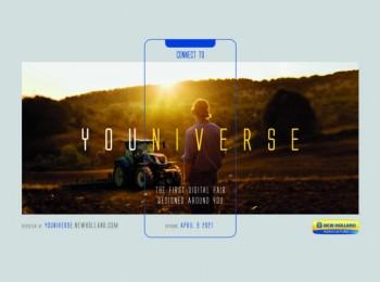 Todo listo para Youniverse, la feria digital que CNH Industrial celebrará del 9 al 18 de abril