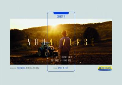 Youniverse, la feria digital de CNH Industrial, se amplía hasta el 25 de abril