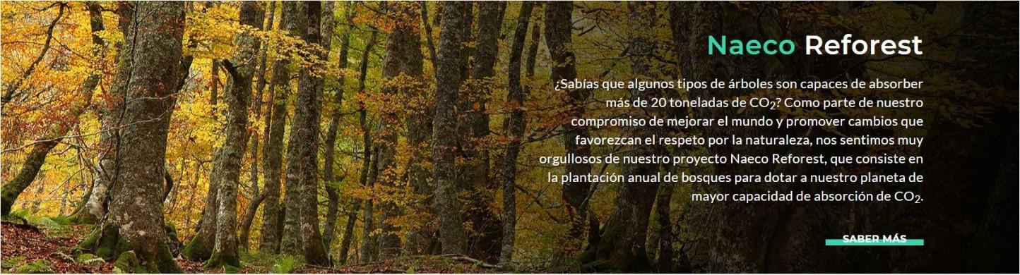 """""""NaecoReforest"""": reducir las emisiones deCO2a través de la plantación de bosques"""