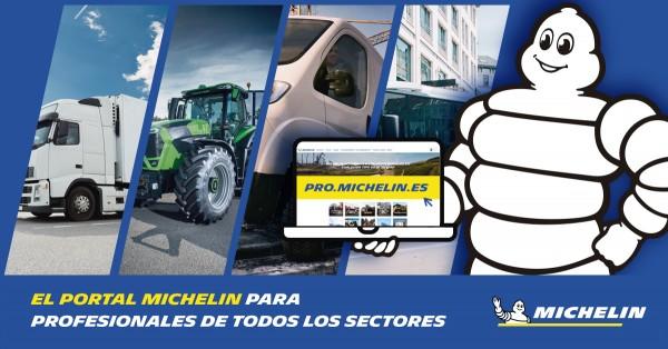 Pro.michelin.es, un nuevo portal para profesionales de todos los sectores