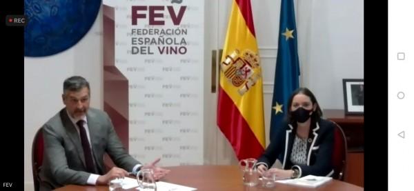La FEV pide a Maroto que el vino y sus empresas sean objeto específico de los fondos de recuperación