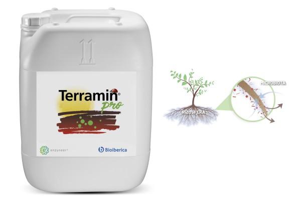 Terramin Pro, la solución de Bioibérica Plant Health para potenciar la salud del suelo