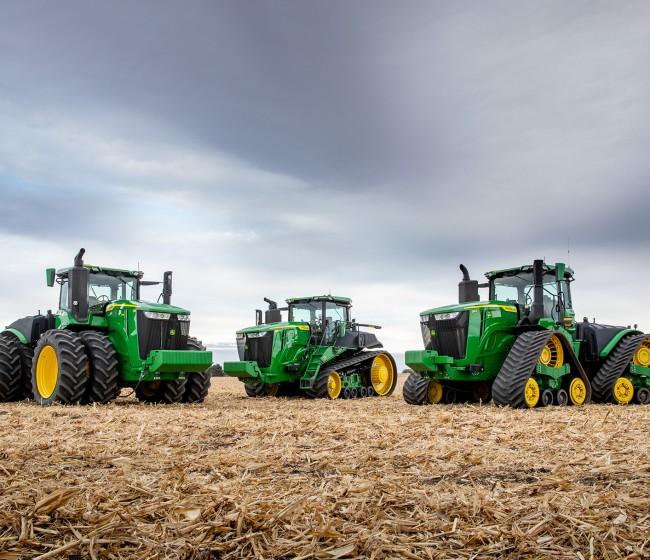 John Deere lanza la nueva serie 9 de tractores, más eficientes y más inteligentes