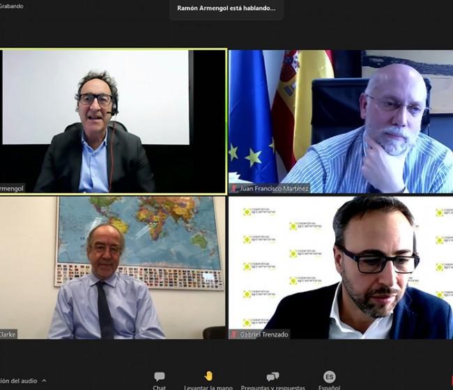 Cooperativas Agro-alimentarias celebra un seminario sobre la nueva política comercial de la UE