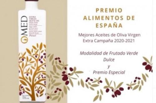 Un aceite granadino, Premio Especial Alimentos de España 2020-2021