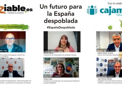 Encuentro Soziable.es: Por una alianza público-privada para luchar contra la despoblación