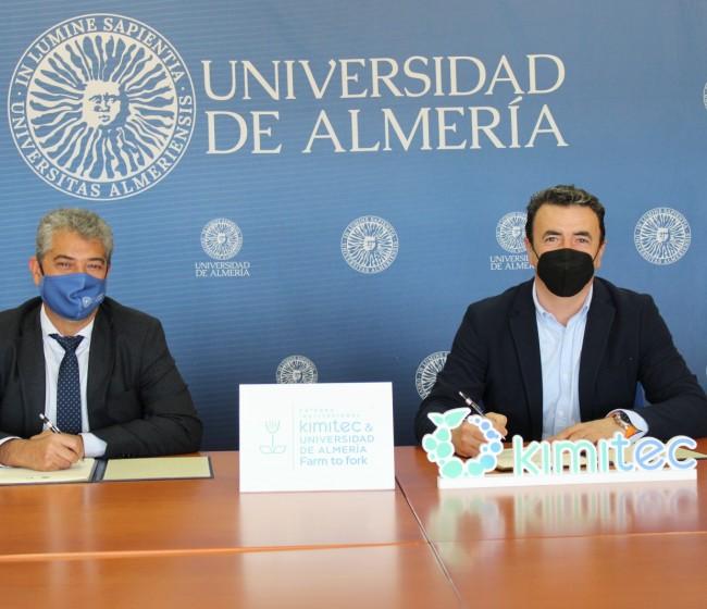 Kimitec y la Universidad de Almería crean la Cátedra Kimitec & UAL Farm to fork
