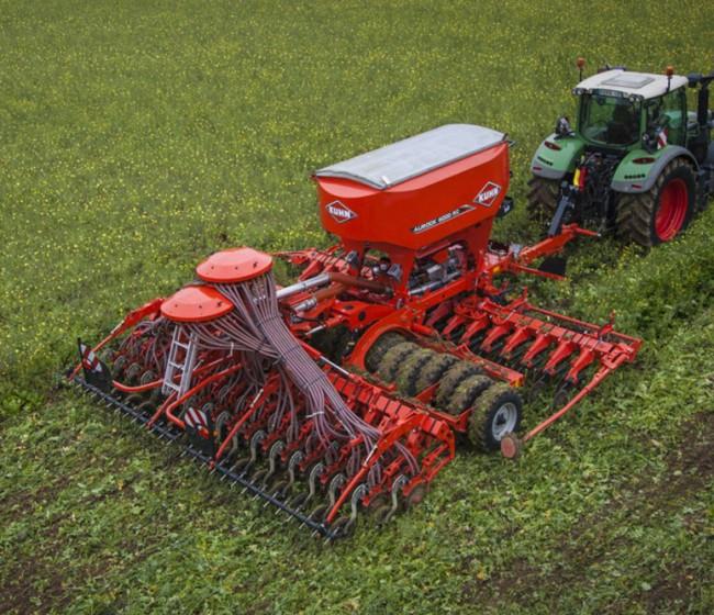 Aurock, la sembradora de Kuhn apta tanto para mínimo laboreo como para siembra directa